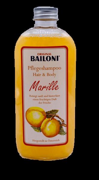 Pflegeshampoo Hair&Body Marille mit Schafmilch 250ml