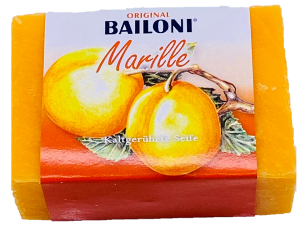 Kaltgerührte Seife Marille 100g